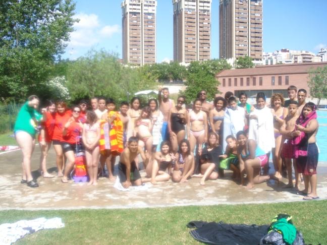 foto grup piscina